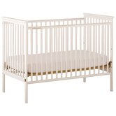 Libby Fixed Side Crib in White