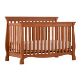 Venetian Fixed Side Convertible Crib in Oak