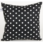 McKenzie Black Dot Pillow
