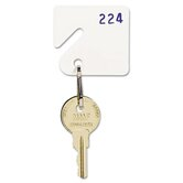 Steelmaster Numbered Slotted Rack Key Tags, 20/Pack