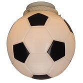 "4"" Neck Glass Soccer Ball Shade"