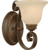 Riata  Wall Sconce in Aged Bronze