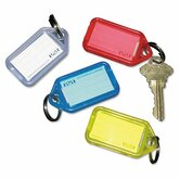 Securit Extra Color-Coded Key Tags for Key Tag Rack, 4/Pack