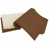 Tadpoles Organic Flannel Receiving Blankets in Cocoa (Set of 3)