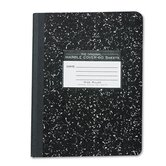 Marble Cover Composition Book, Wide Rule, 9-3/4x7-1/2, 60 Pages