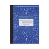 "Composition Book, College Ruled, 10-1/4""x7-3/4"", 80 Sheets"