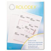 Rolodex Corporation Card File Refills