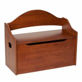 Toy Box with Arched Back