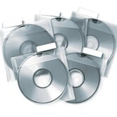 CD Saver Protective Sleeves, 25 per Pack, Clear