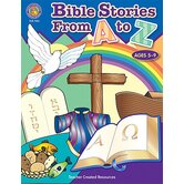 Bible Stories From A-z Activity Bk
