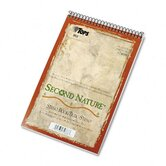 Second Nature Spiral Reporter / Steno Notebook, 80-Sheet