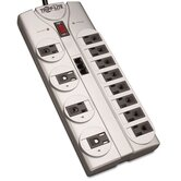 Surge Suppressor, 12 Outlet, Rj11, 8Ft Cord, 2160 Joules