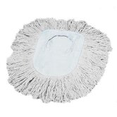 Wedge Dust Mop Head in White