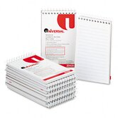 Wirebound Memo Books, 12 50-Sheet Pads/Pack