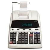 1230-4 Desktop Calculator, 12-Digit Fluorescent, Two-Color Printing