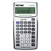10-Digit LCD Scientific Calculator, Antimicrobial and Recycled Plastic