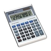 "12-Digit Desktop Calculator, w/ Loan Wizard, 5-3/4""x7-7/8""x1-3/4"""