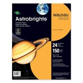 "Astrobright Paper,24lb.,8-1/2""x11"",150/PK,Cosmic Orange"