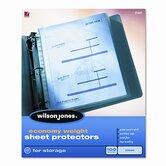 Wilson Jones Sheet Protectors