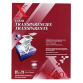 "Clear Transparencies, 8-1/2""x11"", 100 per Box"
