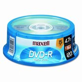 Spindle Dvd-R Discs, 4.7Gb, 16X, 15/Pack