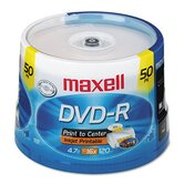 Spindle Dvd-R Recordable Discs, 4.7Gb, 16X, 50/Pack