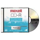 Cd-R Discs, 700Mb/80Min, 48X, 10/Pack