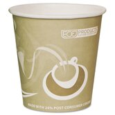 Evolution World 24% PCF Hot Drink Cup in Tan