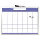 Magnetic Dry Erase Board, Monthly Planner, 23 X 17