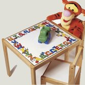 ABC 123 Kids' 3 Piece Table and Chair Set