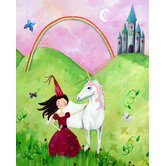 Wit and Whimsy Princess Canvas Print