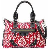 Ikat Slouch Tote Diaper Bag