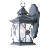 Providence Outdoor Wall Lantern in Charcoal