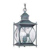 Providence  Outdoor Hanging Lantern in Charcoal