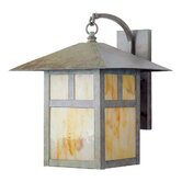 Montclair Mission  Outdoor Wall Lantern in Verde Patina