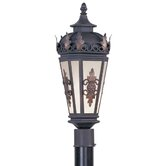 Berkshire  Outdoor Post Lantern in Bronze