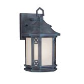 Tahoe  Outdoor Wall Lantern in Charcoal