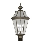 Georgetown  Outdoor Post Lantern in Bronze