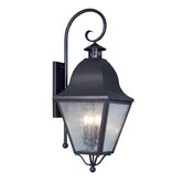 Amwell Outdoor Wall Lantern in Bronze