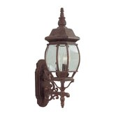 Frontenac  Outdoor Wall Lantern in Weathered Brick