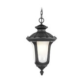 Oxford  Outdoor Hanging Lantern in Black