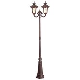 Oxford  Outdoor Post Lantern in Imperial Bronze