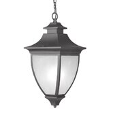 Hillsdale  Outdoor Hanging Lantern in Black