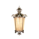 Seville 6 Light Foyer Pendant with Art Glass