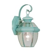 Monterey Outdoor Wall Lantern in Verdigris
