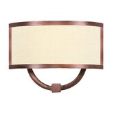 Park Ridge One Light Wall Sconce in Vintage Bronze