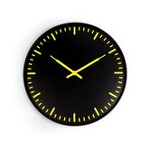 Ultra Flat Wall Clock Swiss Station