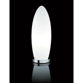 Gherkin Table Lamp in White