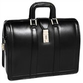 V Series Morgan Leather Litigator Laptop Briefcase