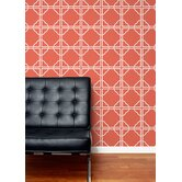 Asian Trellis Wallpaper by Aimée Wilder